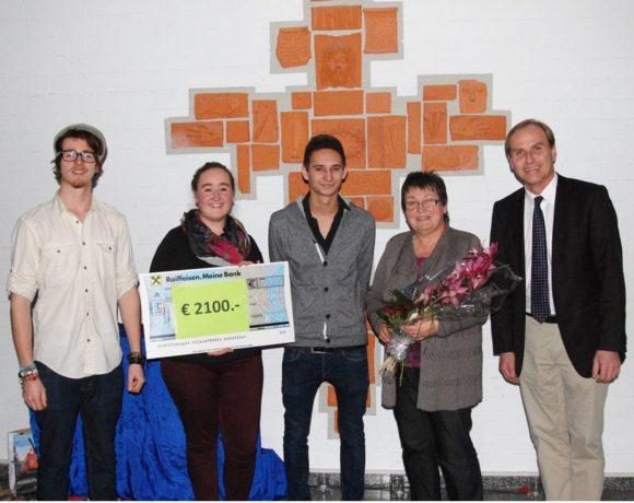 BAKIP Ried donates € 2100