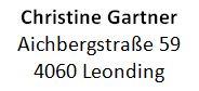 Christine Gartner