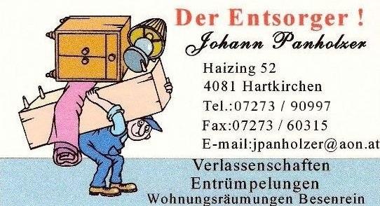 Der Entsorgen Johann Panholzer
